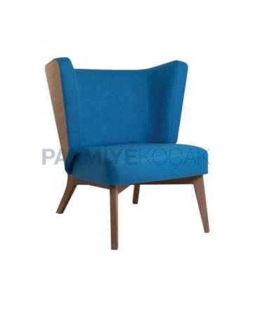 Retro Leg Blue Fabric Bergere