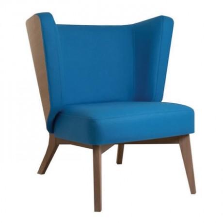 Retro Leg Blue Fabric Bergere - bm46