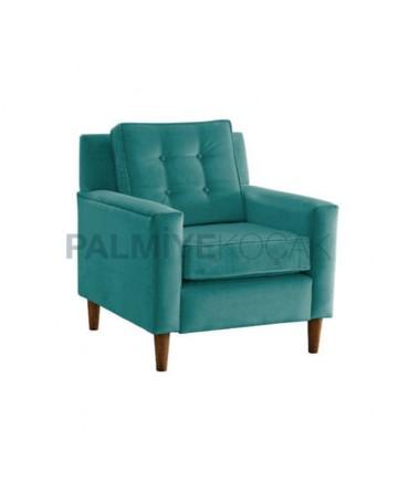 Retro Leg Bergere with Cushion