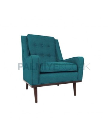Turquoise Colored Fabric Bergere