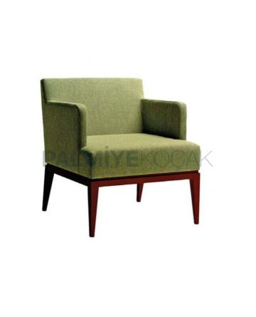 Green Linen Fabric Bergere