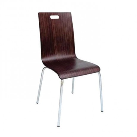 Polished Coated Monoblock Chair - lms135