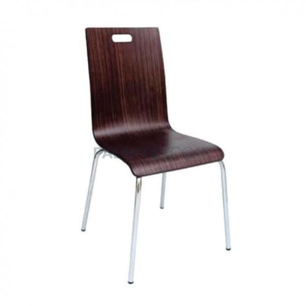 Cilalı Kaplamalı Monoblok Sandalye
