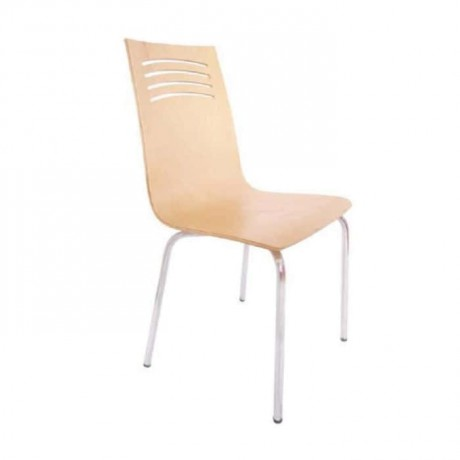 Beech Laminate Monoblock Chair - lms159