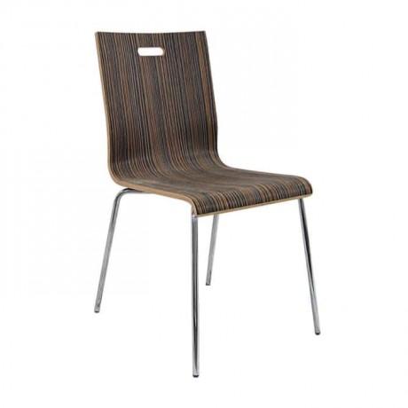 Laminat Kaplı Lamine Cafe Sandalyesi - lms160