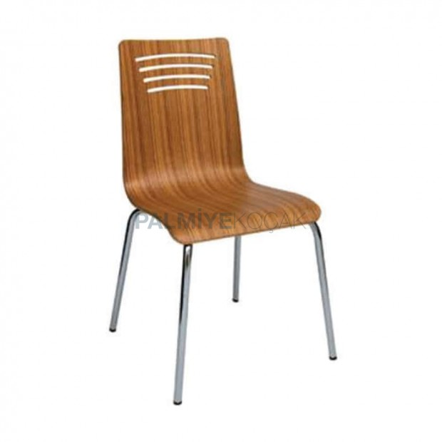 Olive Mono Block Metal Chair