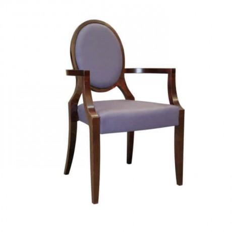 Mor Döşemeli Klasik Sandalye - ksak13