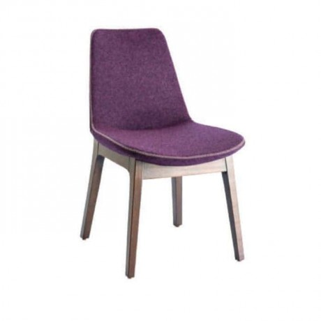 Purple Fabricated Polyurethane Chair - psa637