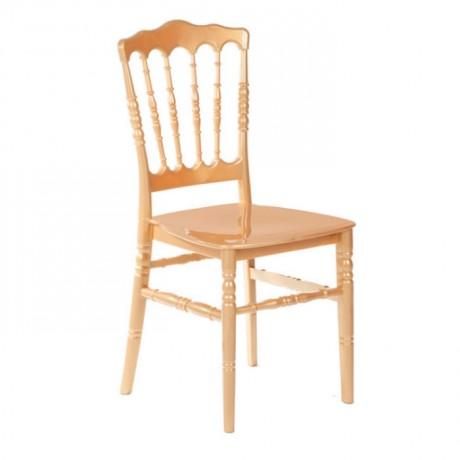 Altın Sarı Plastik Organizasyon Napolyon Sandalyesi - tfs4067