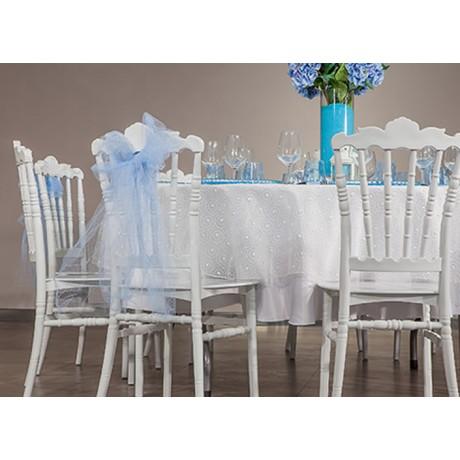 2021 Trend Beyaz Napolyon Sandalye - tfs4071