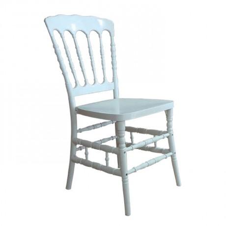 Beyaz Plastik Lüks Napolyon Sandalye - tfs4068