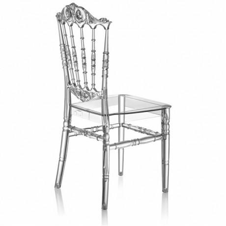 Polikarbonat Hafif Şeffaf İstiflenebilir Sandalye - tfs4072