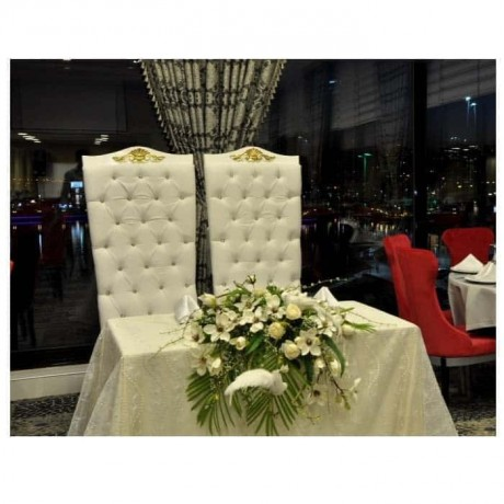 Wedding Hall Bridal Groom and Chair - nkm16
