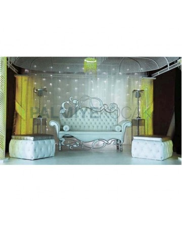Bride Groom Throne Set