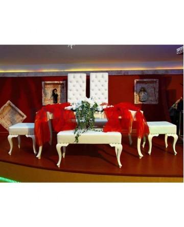 Lukens Leg Bride Groom Table Chair Set