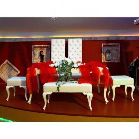 Lukens Leg Bride Groom Table Chair Set - nkm02