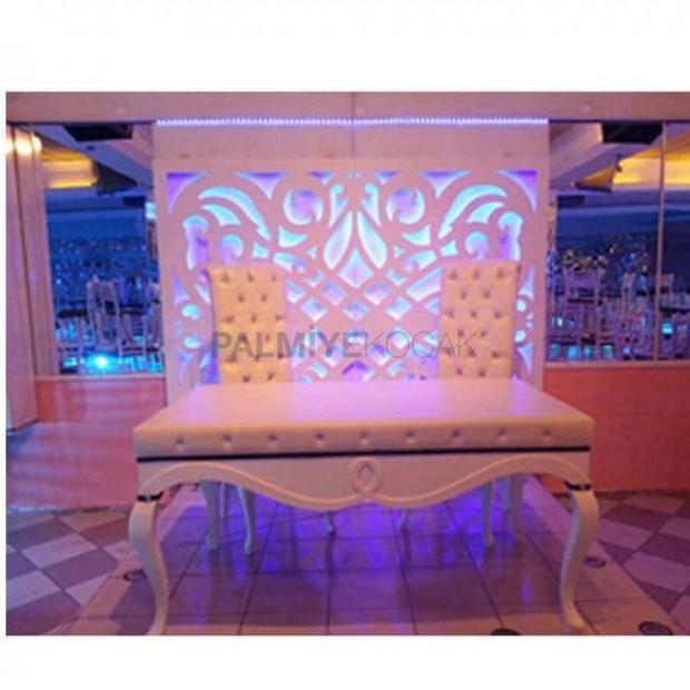 Wedding Table Set Lukens With Leg Chair