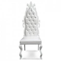 Cnc Wood Backed Wedding Chair