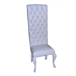 Quilted Bride Groom Chair