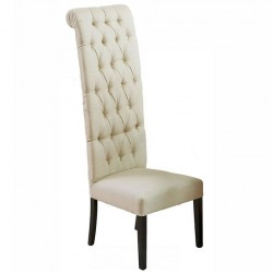 Quilted Tread Long Wedding Chair