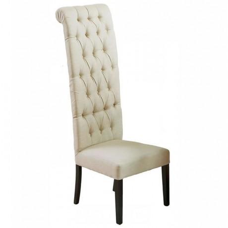 Kapitoneli Sırtı Uzun Nikah Sandalyesi - Nikah Sandalyeleri