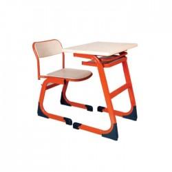 Akça Wood Single School Verzalit Desk