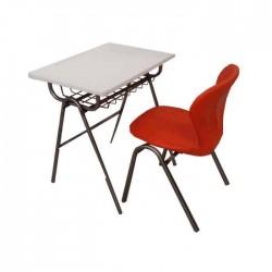 Economic Desk with Plastic Chair