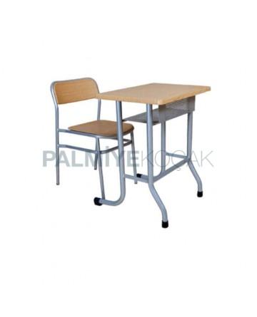 Verzalit Sandalyeli Tekli Okul Sırası