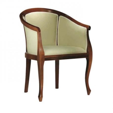 Otel Lobisi Kollu Cilalı Sandalye - ksak83