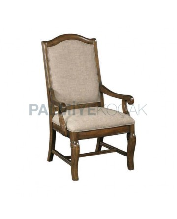 Hotel Room Classic Wooden Armchair