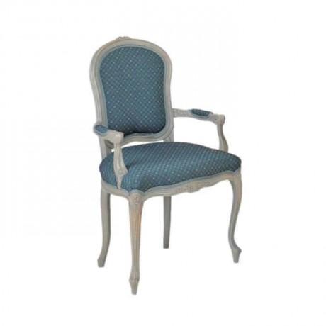Oymalı Klasik Kollu Sandalye - ksak15