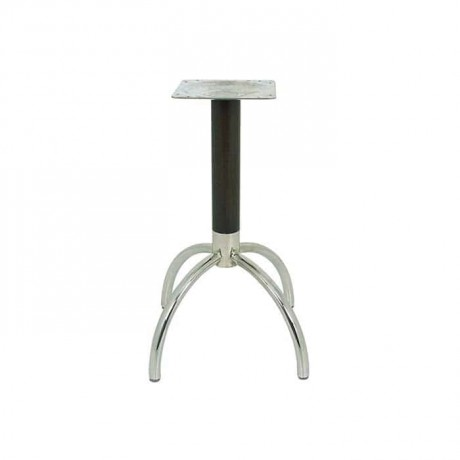 Wooden Stainless Table Leg