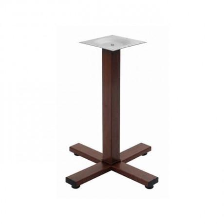 Boyalı Artı Metal Masa Ayağı