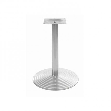 Round Stainless Table Leg