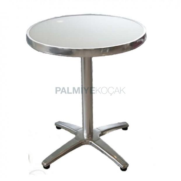 Stainless Round Garden Table