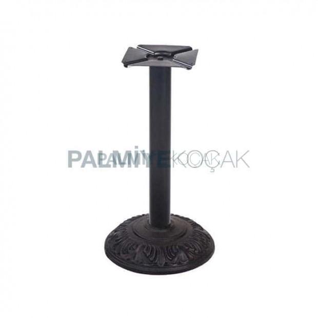 Round Base Pipe Table Leg