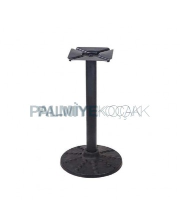 Round Base Pipe Table Legs