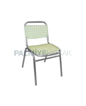 Plastic Aluminum Chair