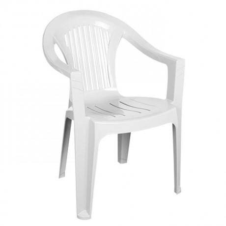White Garden Arm Chair - plsk2050