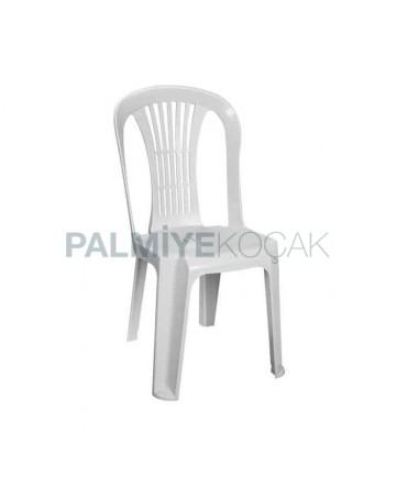 Beyaz Plastik Düğün Salonu Sandalyesi
