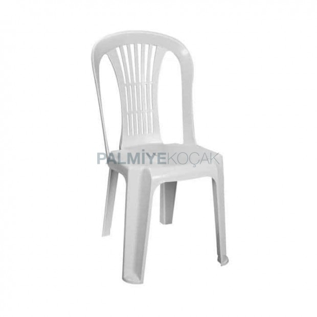White Plastic Wedding Hall Chair