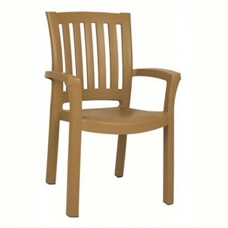 Plastic Hotel Restaurant Garden Arm Chair - plsk3072