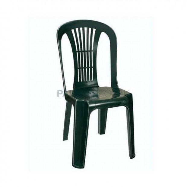 Green Plastic Garden Chair