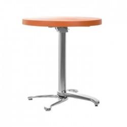 Orange Plastic Restaurant Table