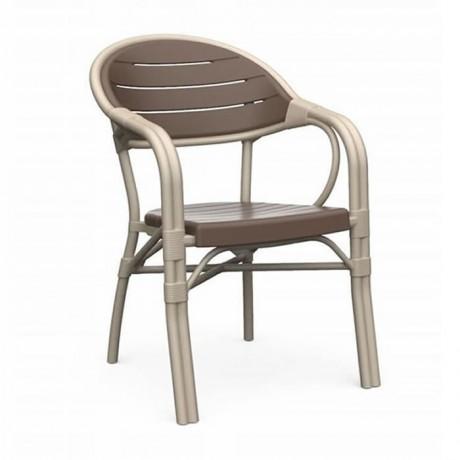 Bambu Plastik Kollu Sandalye Restoran Otel Cafe Avm Chair