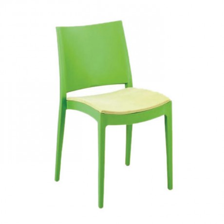 Peanut Green Cafe Garden Chair - pls43
