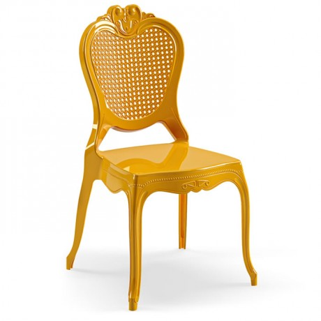 Dış Mekan Uyumlu Düğün Salonu Davet Organizasyon Plastik Sandalye - pls57