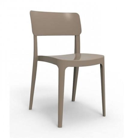 Gri Plastik Sandalye - pls175