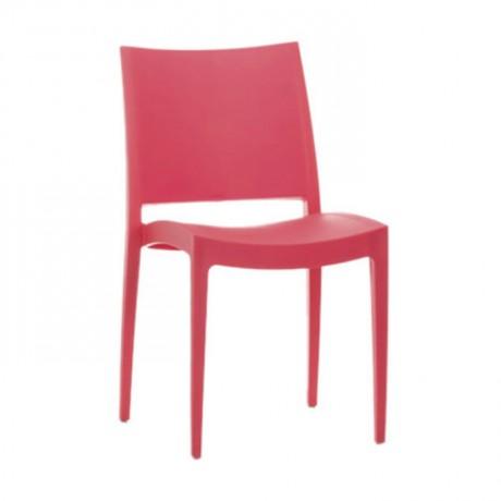Kırmızı Restaurant Bahçesi Sandalyesi - pls42