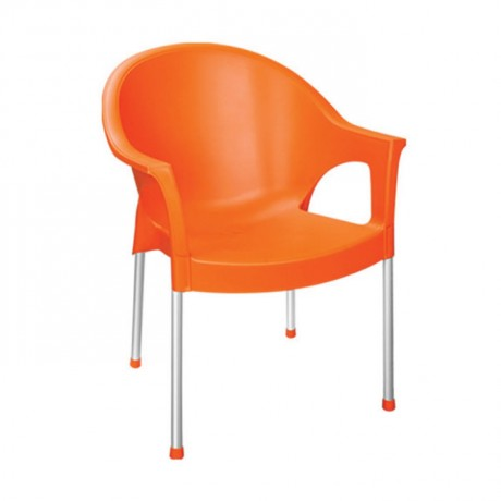 Plastic Restaurant Garden Arm Chair - pls23